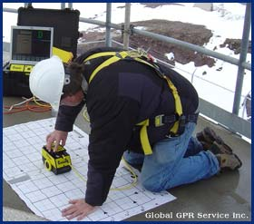 gpr concrete data collection