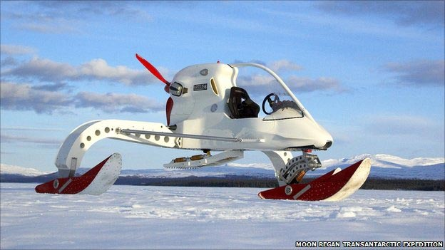 antartic ice vehicle