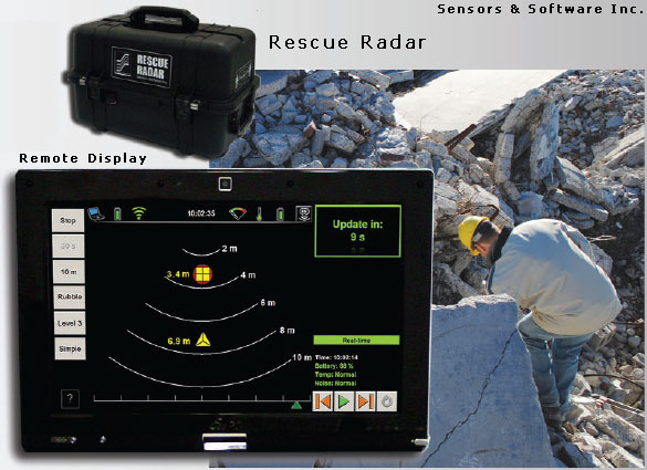 GPR Rescue Radar