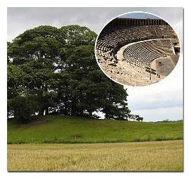 roman amphitheatre england
