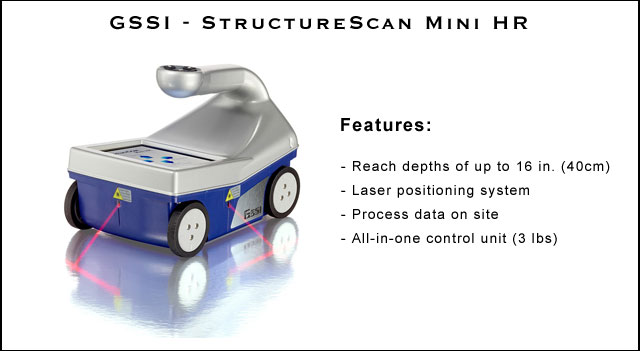 GSSI StructureScan Mini HD